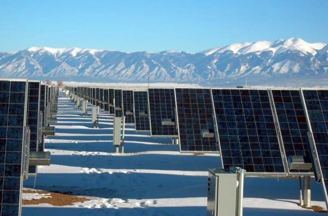 Solar farm. (Image courtesy of the National Renewable Energy Laboratory.)