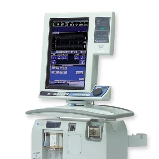 Puritan Bennette 840 Ventilator. (Images courtesy of Royal Circuit Solutions.)