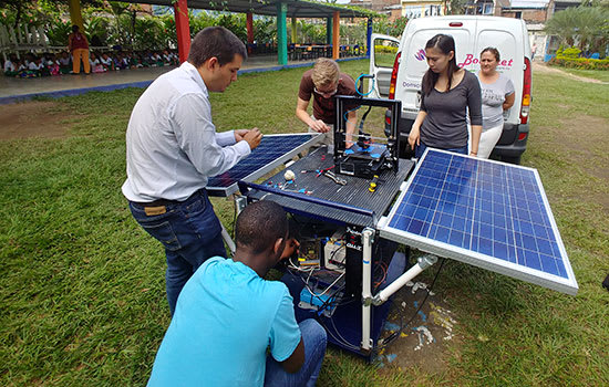 Solar Powered 3d Printing System Promotes Additive Manufacturing Education In Colombia Additive News