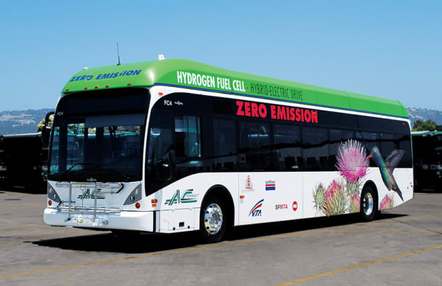 Fuel cell bus. (Image courtesy of NREL.)