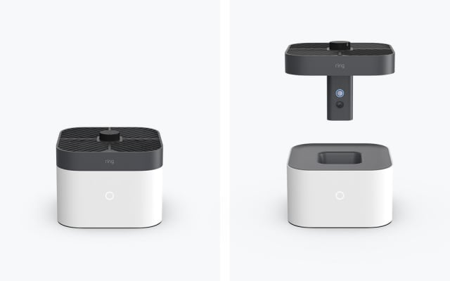 The autonomous indoor security camera works with Ring Alarm and flies to preselected locations to easily check in on your home. (Image courtesy of Ring.)