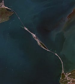 The Kerch Strait Bridge.