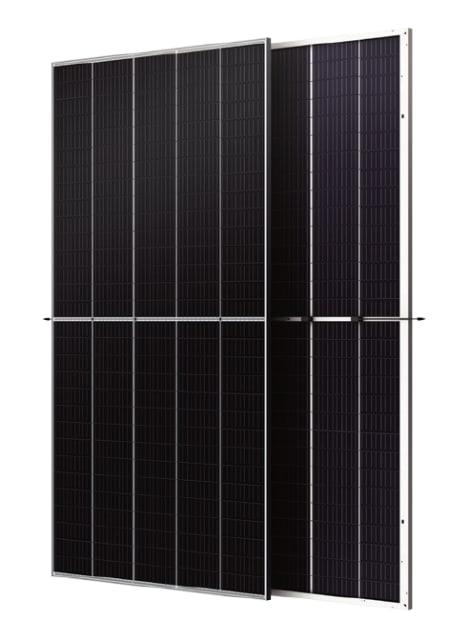 High-performance solar module. (Image courtesy of Trina Solar.)