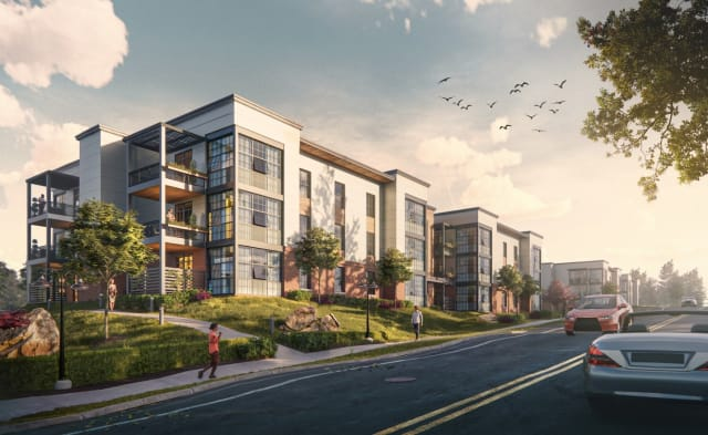 Apartments rendered in Enscape by Steven Garubba.