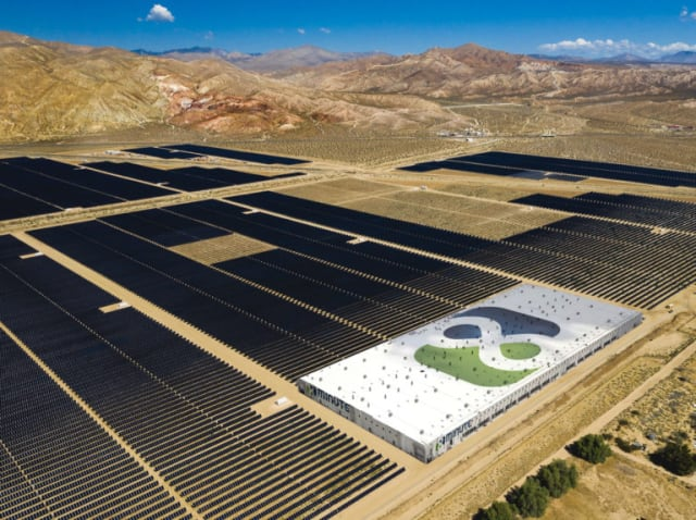 Eland Solar & Storage Center near Los Angeles. (Image courtesy of 8minute Solar Energy.)