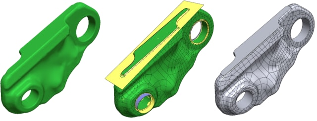 Geomagic provides tools for capturing, processing and transferring to CAD scanned product data. (Image courtesy of 3D Systems.)