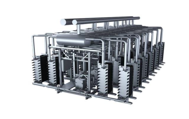 Siemens' Silyzer electrolyser system. Source: Siemens.