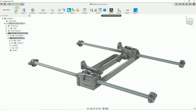 Users of Fusion 360 will soon be able to send their studies to ANSYS solvers. (Image courtesy of Autodesk.)