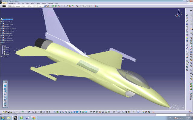 "A JET DESIGNED IN CATIA V5. TAI has so far used Dassault's CAD solution CATIA V5 and Siemens Teamcenter (cPDm) as important digital product development tools. According to Dassault and David Ziegler, the company will phase out Teamcenter and—at least in the TF-X project—only use 3DEXPERIENCE and ENOVIA as product data backbone. ""Migration between models produced in CATIA V5, which will be reused in the new project, will be solved by Dassault's new ""Power By"" solution, which also will be able to directly run and use 3D models produced in other PLM developer's formats,"" said Ziegler."