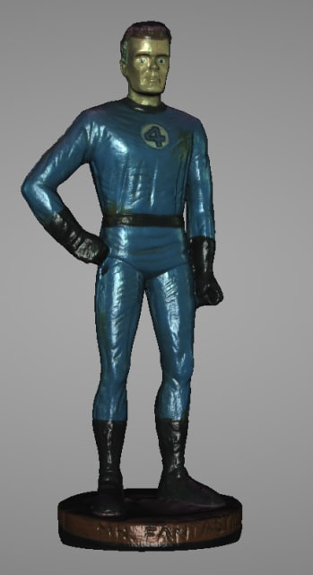 Mr. Fantastic after Watertight mesh.