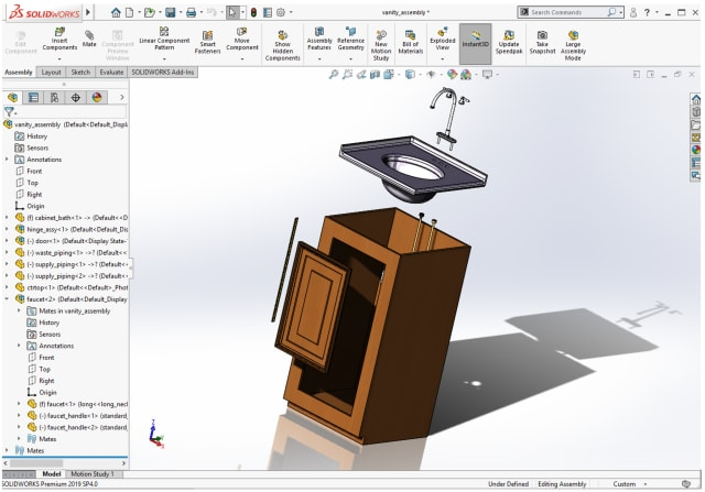Testing SOLIDWORKS 2019 on the BOXX APEXX Enigma S3.