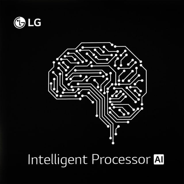 AI chip. (Image courtesy of LG.)