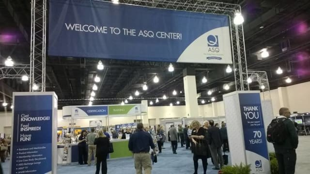 Last year's ASQ World Conference in Milwaukee. (Image courtesy of ASQ.)