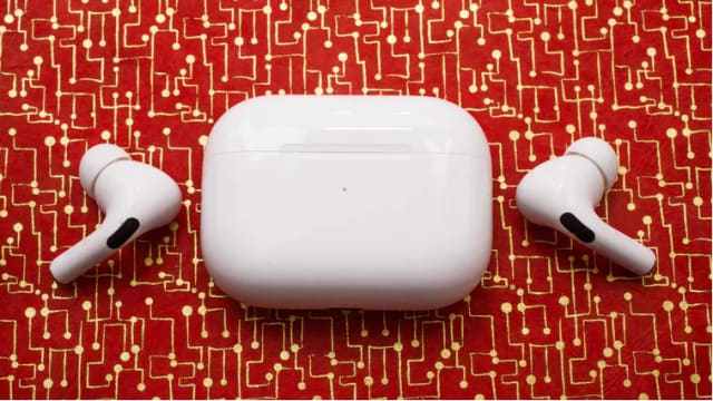 Apple AirPods Pro. (Image courtesy of CNET.)