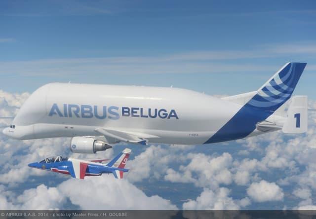The Airbus BelugaXL. (Image courtesy of Airbus.)