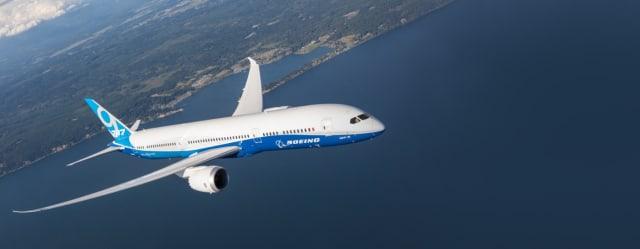 Boeing 787 Dreamliner. (image courtesy of Boeing.)