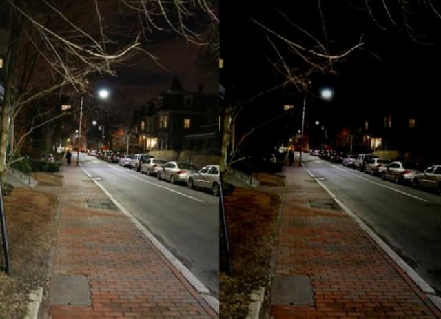 Cambridge, MA before and after midnight (Courtesy of WSP | Parsons Brinckerhoff)