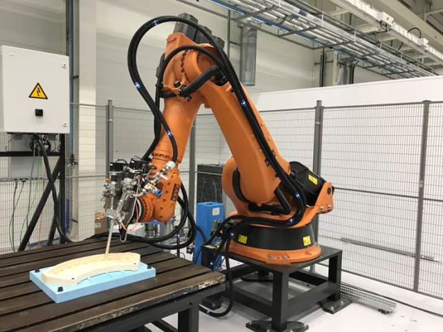 Automated sealant application trials