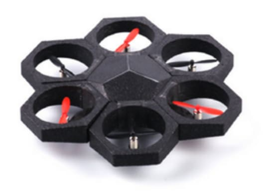 The Airblock modular UAV. (Image courtesy of Airblock.)