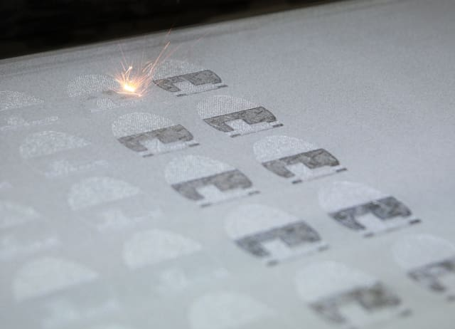 EOS direct metal laser sintering for additive manufacturing. (Image courtesy of EOS.)