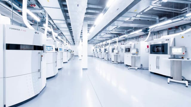 The Factory of the Future. (Image courtesy of EOS.)