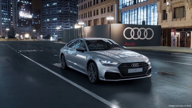 Screenshot from Audi's digital showroom created with Unreal Engine. (Image courtesy of Epic Games.)