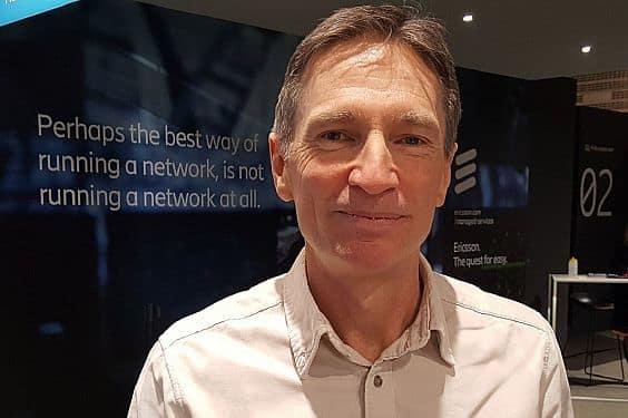Ericsson's Head of IoT, Jeff Travers.