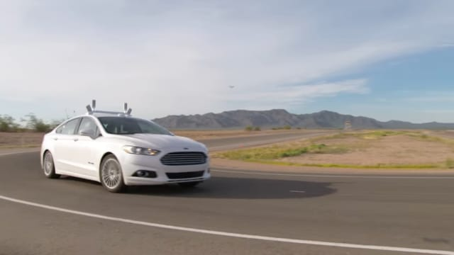 Ford Targets Fully Autonomous Vehicle for Ride Sharing in 2021. (Image courtesy Ford Motor Company.)