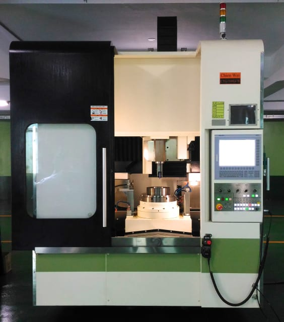 Chien Wei's new gear grinding machine is based entirely on NUM's latest-generation Flexium+ 68 CNC platform. (Image courtesy of Chien Wei.)