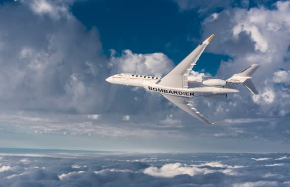 High Hopes for Bombardier's Global 7500 Business Jet in 2019
