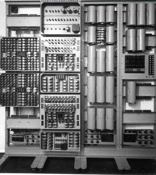 When the first computers were being built, electrical engineers designed and built circuits to transmit flowing electrons (electrical current), and then developed transistors that adjusted resistance the level of non-conductivity) on command. These resistors allowed engineers to create any state for specific voltage levels, but only two states were needed for mechanical classical computers at the time. As large mechanical computers gave way to electrical computers (which could do everything mechanical much faster with speedy electricity). Electronic classical computers didn't take into account the huge amount of positions electrons can inhabit at a static momentum, where a mechanical device could only have one state at that same static momentum. Electronic classical computers were designed to boil down the number of states to two, so that true or false values (via boolean logic) could be ascribed for a sequential classical computation.