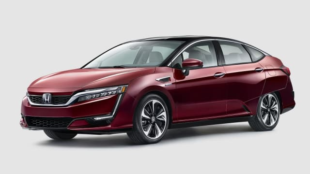 The Honda Clarity Fuel Cell became available at select California dealerships in December 2016. (Image Courtesy of Honda Inc.)