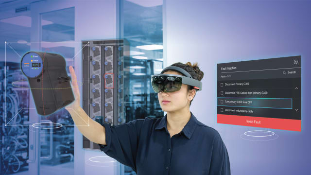 Honeywell's New HoloLens solution leverages the cloud. (Image courtesy of Honeywell.)