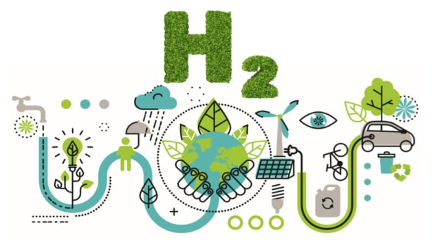 Green hydrogen is considered the sustainable fuel of the future. (Image courtesy of Mergers Alliance.)