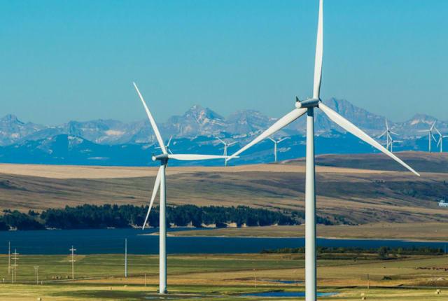IKEA's wind farm in Cameron, Tex. (Image courtesy of IKEA.)
