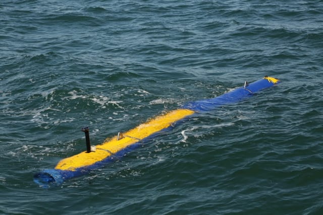 The Knifefish underwater drone. (Image courtesy of General Dynamics.)