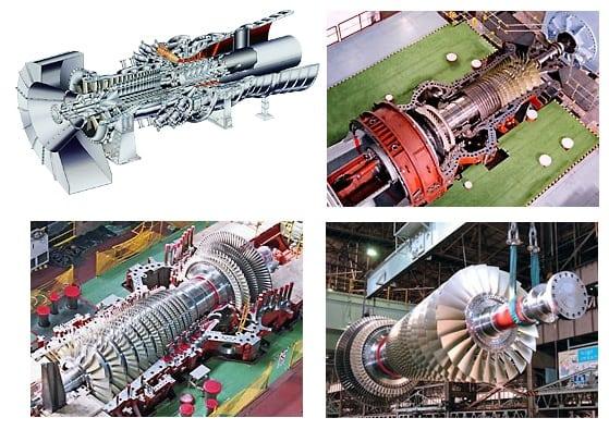 G-series gas turbines. (Image courtesy of MHPS-AMER.)