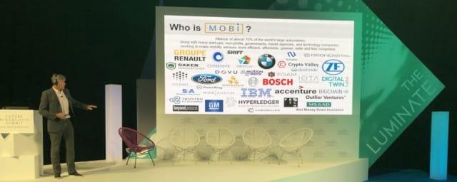 MOBI was announced at the Future Blockchain Summit in Dubai. Image credit: Jamie Burke