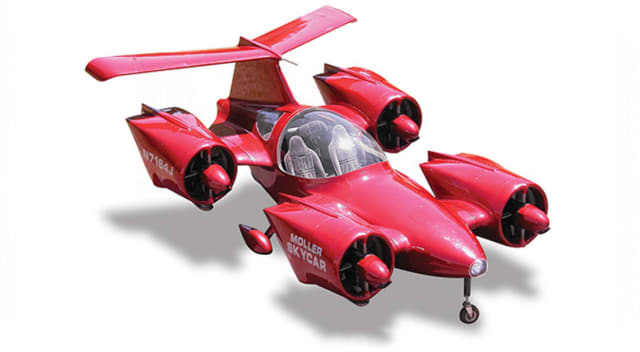 The Moller Skycar has been in development for over half a century. (Image courtesy of Moller International.)