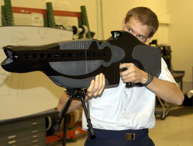 This is a PHASR rifle.