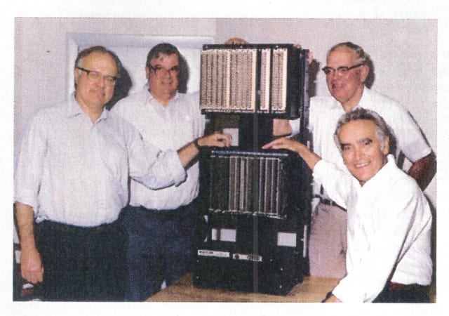 PLC Pioneers, Richard Morley, Tom Bossevain, George Schwenk and Jonas Landau,