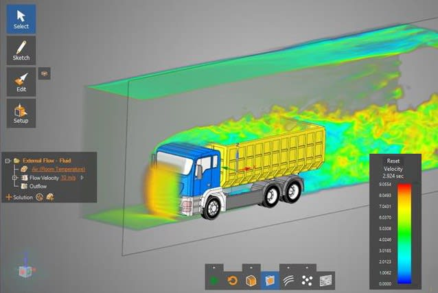 USEFUL SIMULATIONS. The cooperation with ANSYS has given PTC sharp simulation solutions integrated in its CAD solution Creo.