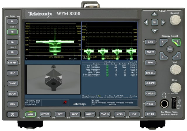 WFM/WVR5200 platform. (Image courtesy of Tektronix.)