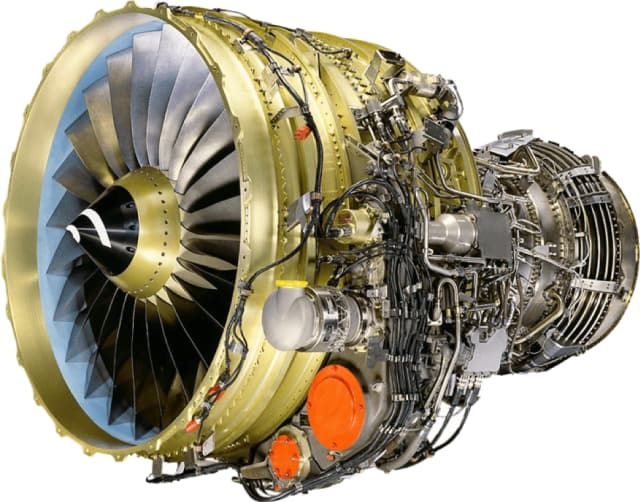 Under the hood. CFM International's CFM56-7B turbofan engine type was introduced in 1997 and currently powers 6,700 aircraft worldwide. (Image courtesy of CFM International Inc.)