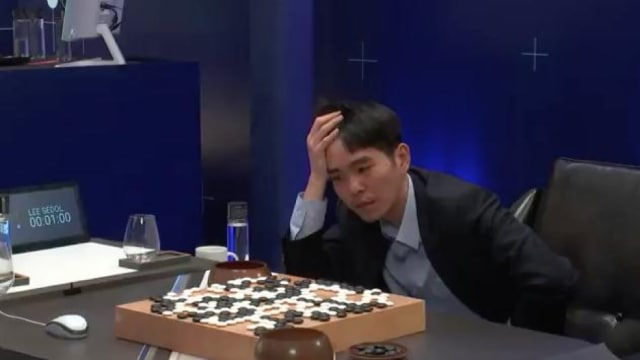 With surprising wins by AlphaGo's deep learning over top human players like Lee Sedol at a more intuitive game of Go and strangely sealed warnings from Elon Musk and Stephen Hawking, artificial is set for a landmark year. (Image courtesy of YouTube.)