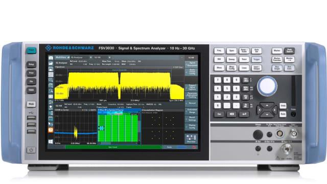 FSVA3000 spectrum analyzer. (Image courtesy of Rohde & Schwarz.)