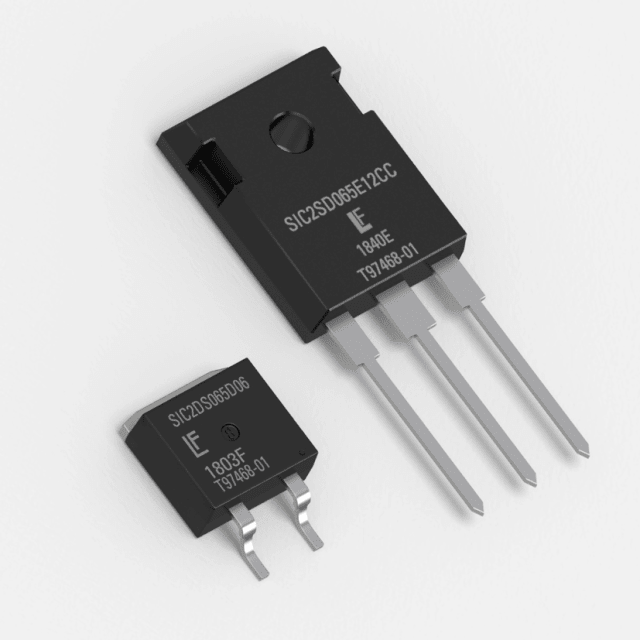 LSIC2SD065DxxA diodes. (Image courtesy of Littelfuse.)