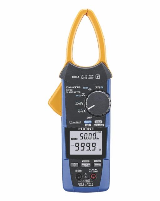 CM4375 clamp meter. (Image courtesy of Hioki.)