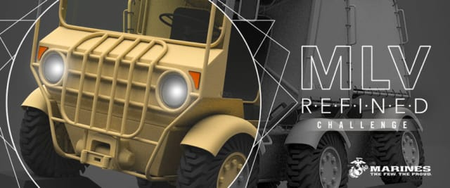 Launch Forth shines the spotlight on SLOG, the winner of its previous design challenge. The goal was to design a new modular vehicle system capable of handling a variety of logistical missions. (Image courtesy of Launch Forth.)