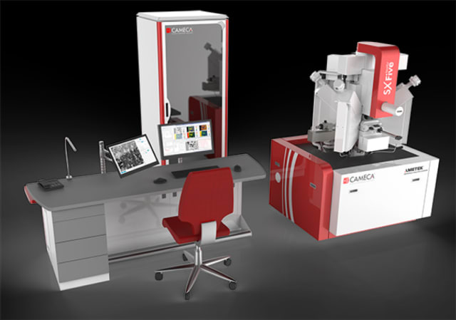 SXFive-TACTIS microanalytical system. (Image courtesy of AMETEK.)